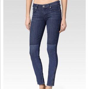 Paige Cara Zip Coastal Jeans